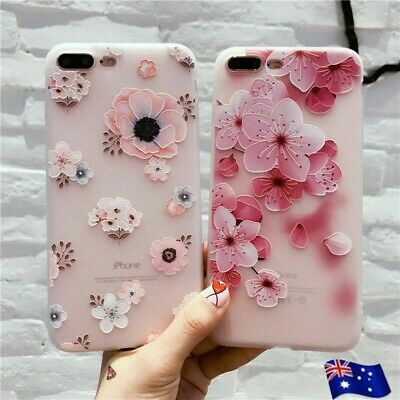 AU6.99 • Buy For Apple IPhone 8 7 6 Plus Shockproof Floral Flower Cute Girls Women Case Cover