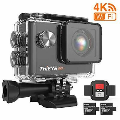ThiEYE 4K 20MP WiFi Action Camera Full HD Waterproof Cam 197ft Underwater • 56.35£