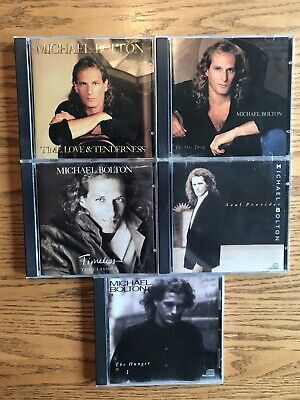 $ CDN19.99 • Buy Lot Of 5 Michael Bolton CD's Pre-Owned In Great Condition