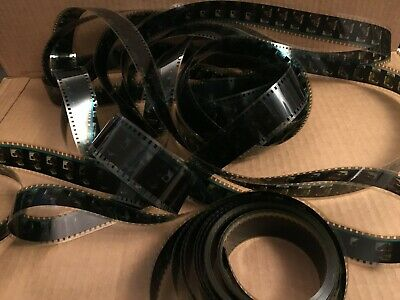 $4.99 • Buy Vintage 35mm Movie Film 25 Feet Art Deco Theater Room Reel Decor Old Party Craft