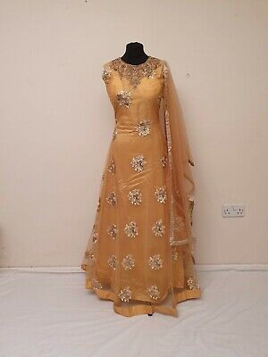 £25 • Buy Brand New India Asian Pakistani Floor Length Suit Anarkali Party Dress Gown