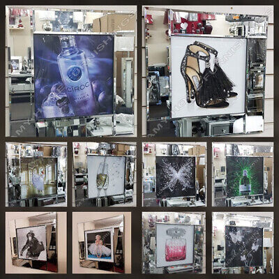 Trees,Vodka,perfume,Marilyn M.pictures With Liquid Art,crystals & Mirror Frames • 49.99£