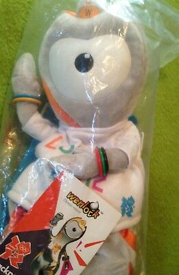 Olympics 2012 Official Wenlock Mascot Backpack Children Toy • 18£