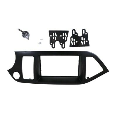 Double Din Car Radio Fascia For Kia Picanto / Morning Stereo Dash Kit Fit I S6Y3 • 23.99£