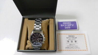 $ CDN149.44 • Buy SEIKO Chronograph SND367PC Men's Watch From Japan New In Box