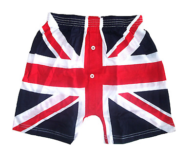 Union Jack Boxer Shorts British UK Flag Perfect Gift • 4.99£