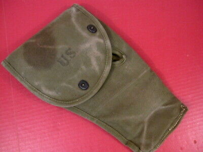 $89.99 • Buy WWII M1 Carbine Paratrooper Canvas Jump Case - Rigger Modified To Jump Bag 1944