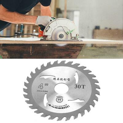 £6.10 • Buy 110mm 30T Carbide Circular Saw Blade Wood Cutting Disc For Angle Grinder