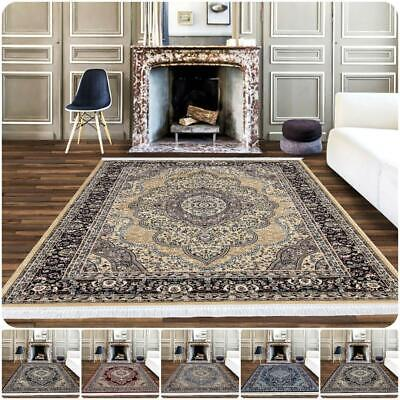 Modern Area Rug Oriental Style Rugs Bedroom Living Room Traditional Carpet Mats • 75.99£