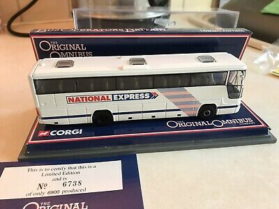 National Express Model Coach - Limited Edition With Certificate. Model Bus 1:76 • 59£