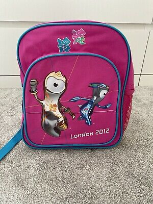 Olympic London 2012 Backpack Pink And Blue • 10£
