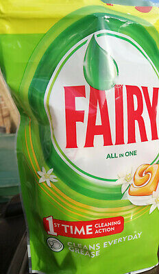 Fairy All In One Dishwasher Tablets Orange  (Choose From 2 - 15 Capsules)  • 4.99£