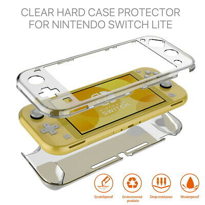 AU12.99 • Buy For Nintendo Switch Lite Transparent Clear Shockproof Protective Hard Case Cover