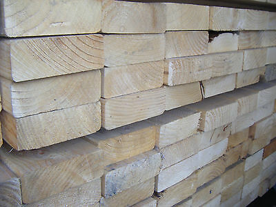 £14.40 • Buy SOFTWOOD C16 KILN DRIED EASED EDGE JOISTS EX 50mm X 125mm (5X2) VARIOUS LENGTHS