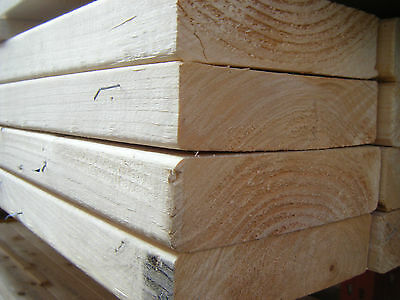 £21.89 • Buy SOFTWOOD C16 KILN DRIED EASED EDGE JOISTS EX 50mm X 175mm (7X2) VARIOUS LENGTHS
