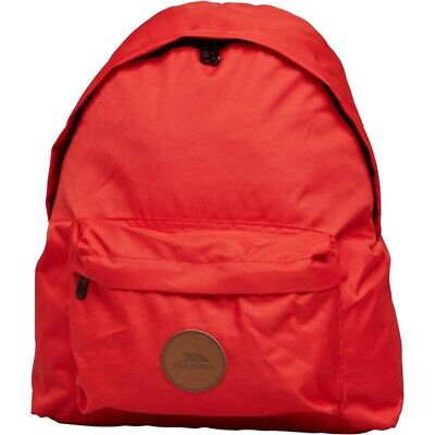 £14.25 • Buy Trespass Aabner Canvas Backpack Red One Size