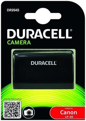 Duracell DR9943 Camera Battery For Canon LP-E6 - FREE RECORDED POST • 25.99£