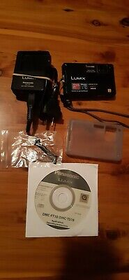 AU80 • Buy Panasonic LUMIX DMC-FT10 14MP Digital Camera Shock & Waterproof ChargerLike New