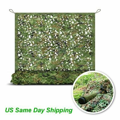 $16.86 • Buy 10FT Camo Netting Woodland Military Camouflage Mesh Netting For Camping Hunting