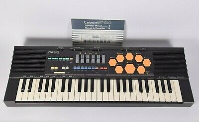 $179 • Buy Casio Casiotone MT-520 Electronic Keyboard Drum Sounds W/ Manual