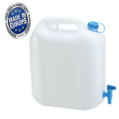 £12.99 • Buy 12 Litre Drinking Water Jerry Can With Tap Food Safe Material Camping Caravan