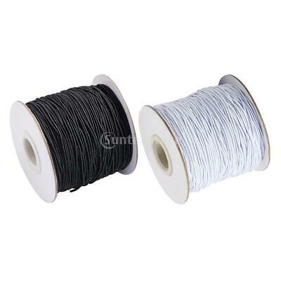 $ CDN25.84 • Buy 2/4mm Elastic Band Bungee Sewing Cord Ribbon Trims For DIY Clothing Dress Sewing