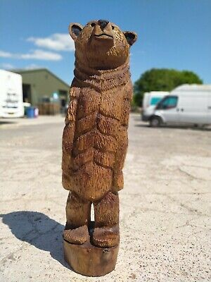Sussex Chainsaw Carving Elm Bear Great Gift Idea Wooden Garden Or Home Sculpture • 450£