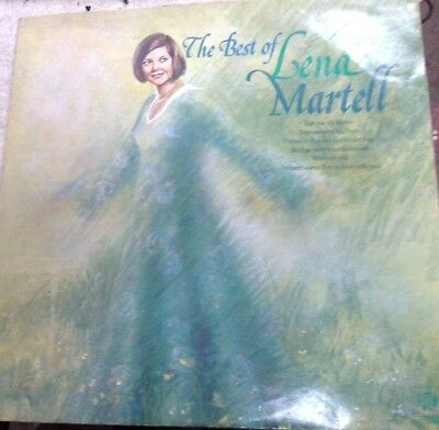 Lena Martell - The Best Of - Vinyl Lp • 0.99£