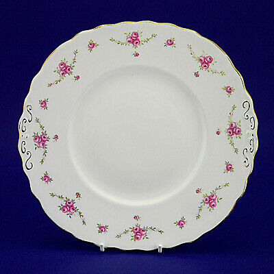 Royal Osborne Fine Bone China Floral Pattern Cake Plate - 8.8  X 9.4  • 3.99£