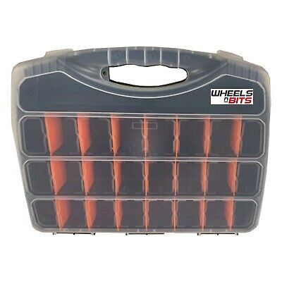480mm Extra Large Tool Storage Box Case Organiser 25 Assorted Compartments  • 12.99£