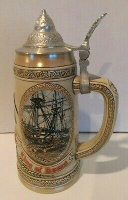 $ CDN26.67 • Buy ANHEUSER-BUSH BUDWEISER BEER STEIN W/LID EARLY TRANSPORTATION G SERIES