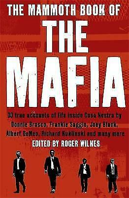 The Mammoth Book Of The Mafia (Mammoth Books), Cawthorne, Nigel, Excellent Book • 5.06£