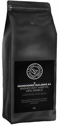 £12.99 • Buy Planet Java Monsoon Malabar Hand Roasted Arabica Coffee Beans 1kg FREE DELIVERY
