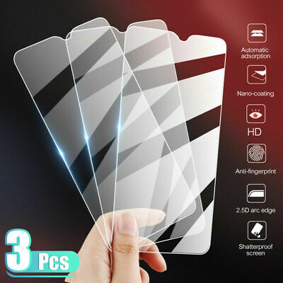 AU5.09 • Buy For OnePlus 7T 7 6T 6 5T 5 Tempered Glass Screen Protector Cover Film Protective
