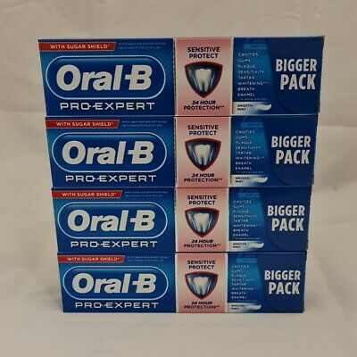 View Details Oral B Pro-expert Sensitive  75ml Toothpaste X 4 Tubes • 9.99£