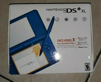$300 • Buy NEW Nintendo DSi XL Midnight Blue Handheld System FACTORY SEALED MINT! RARE!!