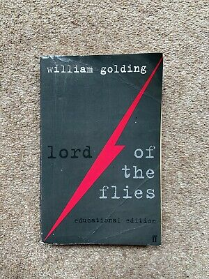 Lord Of The Flies By William Golding Educational Edition • 2.50£