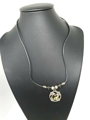 AU8 • Buy Dolphin Yin Yang Pendant On Cord Necklace