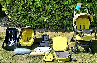 Graco Travel System Pushchair With Extras • 75£