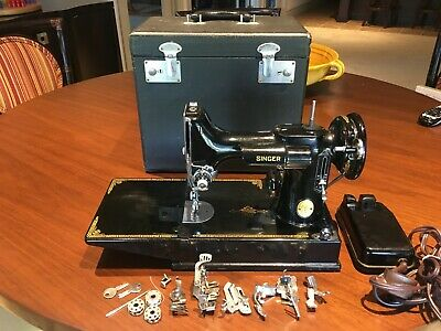 $349 • Buy Singer Sewing Machine Vintage Featherweight