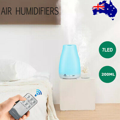 AU20.56 • Buy Essential Oil Humidifier Ultrasonic Air Diffuser Aroma Aromatherapy Air Purifier