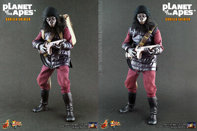 AU600 • Buy Hot Toys MMS88 Planet Of The Apes Gorilla Soldier 1/6 Scale Figure