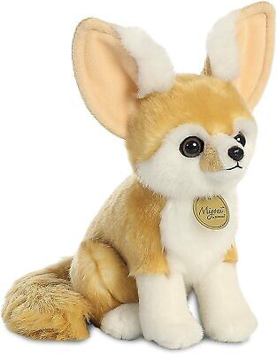 AURORA MiYoni Fennec Fox Soft Toy, Brown And White 23cm - 9inch • 14.95£