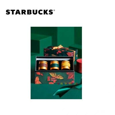 $ CDN81.71 • Buy Starbucks Reserve Roastery Shanghai China Holiday Candle Gift Box Set