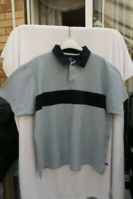 Marks And Spencer Blue Harbour Mens China Blue Polo Shirt - Large  • 5£