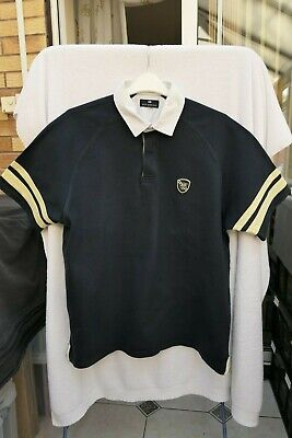 Marks And Spencer Blue Harbour Mens Navy Blue Polo Shirt - Large  • 5£