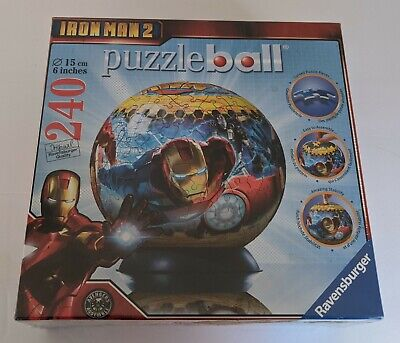 $29.99 • Buy Iron Man 2 Puzzle Ball 240 Pieces Ravensburger Brand New Sealed #115273