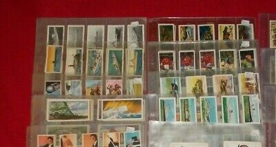 Tea & Trade Cards Complete Full Sets  In Plastic Sleeves - Select Set • 3£
