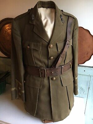 Antique WW1 Field Tunic/Jacket Royal Artillery And Sam Brown • 850£