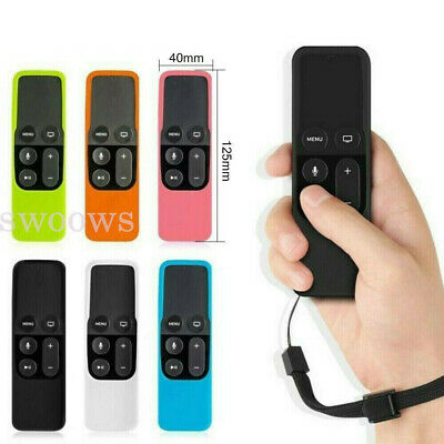 AU6.93 • Buy Remote Controller Silicone Cover For Apple TV 4th Skin Case Protective Dustproof